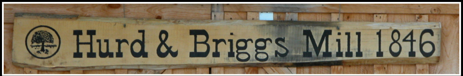 gallery/1846 Hurd and Briggs Sawmill sign image